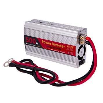 Uniqus SUVPR DY-8109 500W DC 12V to AC 220V Car Power Ingreener with 500mA USB Port & Universal Power Socket