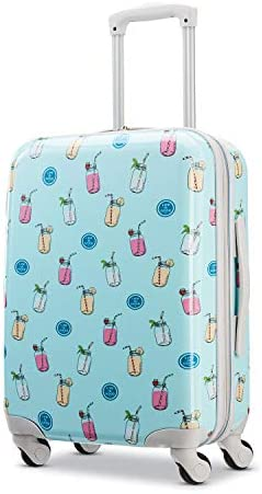 American Tourister Life is Good Hardside Luggage with Spinner Wheels, Mason, Carry-On 20-Inch