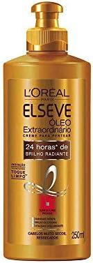 Creme Para Pentear Óleo Extraordinário Nutrição Intensa Elseve L'Oréal Paris 250 Ml, L'Oréal Paris