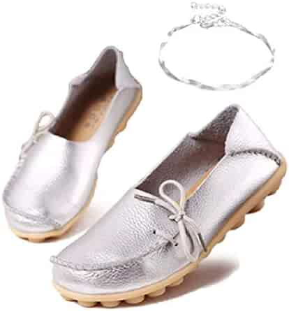 59531e4f9bbc2 Shopping 4 Stars & Up - Beige or Silver - Loafers & Slip-Ons - Shoes ...