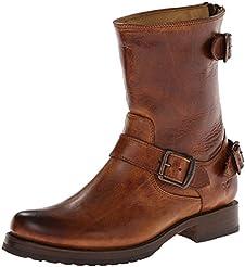 Frye Womens Veronica Back Zip Short Boots