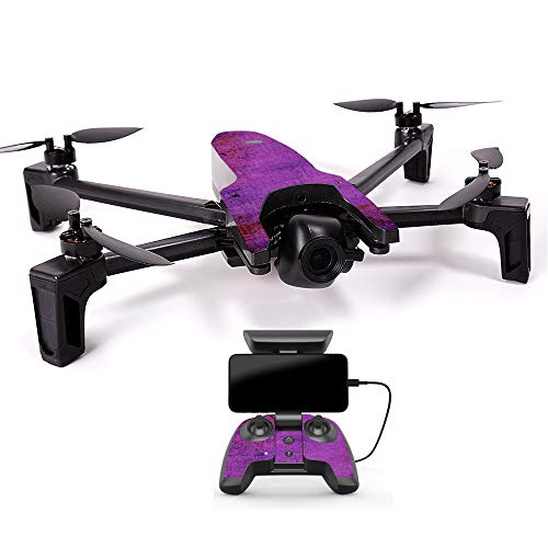 MightySkins Skin for Parrot Anafi Drone - Purple Sky | Protective, Durable, and Unique Vinyl Decal wrap Cover | Easy to Apply, Remove, and Change Styles | Made in The USA