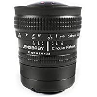 Lensbaby Circular Fisheye 5.8mm f/3.5 Lens for Sony E-Mount (NEX)