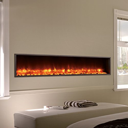 55 Built In Led Electric Fireplace Buy Online In Uae