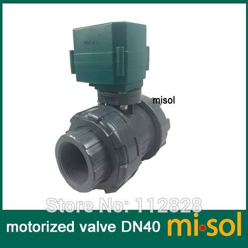 Utini Motorized PVC Valve 12V, DN40 BSP(1.5