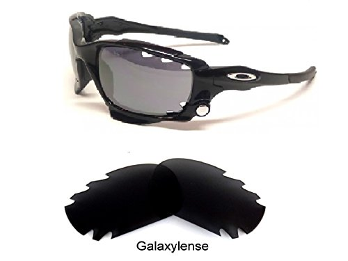 Galaxy Replacement Lenses For Oakley Jawbone,Racing Jacket Black Color - Jawbone Accessories Oakley