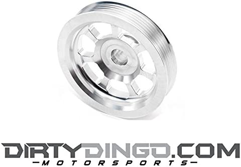Dirty Dingo Small Diameter Power Steering Pulley 5 for 98-02 Camaro Firebird LS