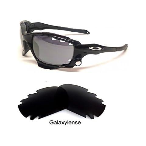 344c6087ffb66 Amazon.com  Oakley Racing Jacket Replacement Lens Black Irid Vented ...