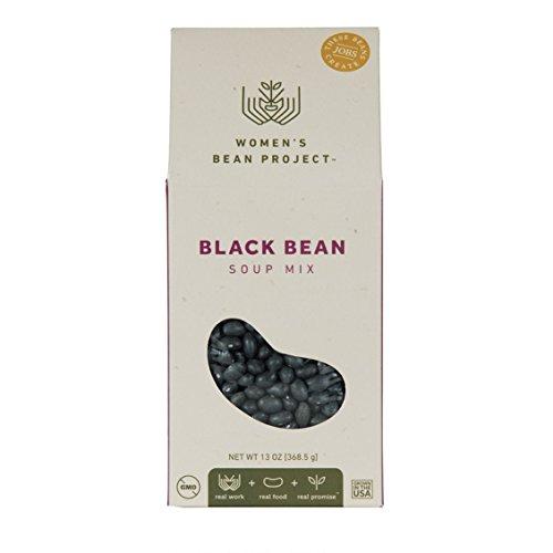 13 Bean Soup Mix - Women's Bean Project Black Bean Soup Mix with Seasoning Packet, 13 Ounces