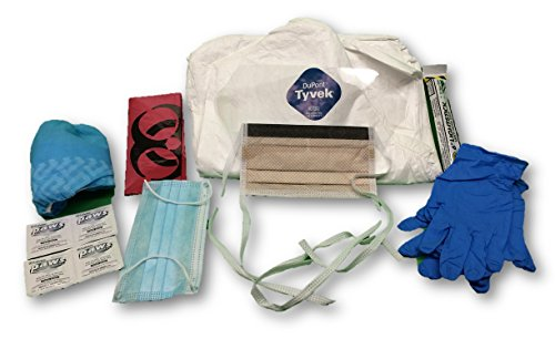 Children's Contagion PPE, Complete Suit with Faceshield for Flu & Pandemic Protection]()