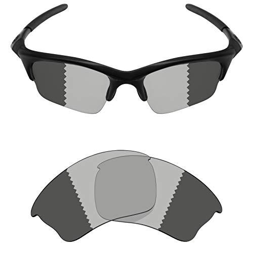 5737c4f306a7 Mryok Polarized Replacement Lenses for Oakley Half Jacket XLJ - Grey  Photochromic