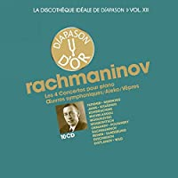 La discothèque idéale de Diapason, vol. 12 / Rachmaninov : Concertos pour piano - Oeuvres symphoniques - Aleko - Vêpres.