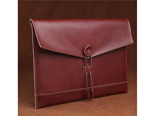 Yunqir Multi-functional 11 Inch PU Leather Handbag Tablet Laptop Bag Handbag Computer Inner Bag for Women and Men