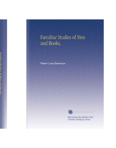 Download Familiar Studies Of Men And Books Book Pdf