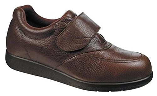 Drew Mens Navigator - Drew Shoe Men's Navigator II Sneakers, Brown Leather, 15 6E