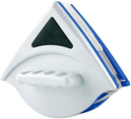 Qianren Limpiaparabrisas de Doble Cara magnético para cepillos de Limpieza de vidrios de Gran Altura y para automóviles con Cuerda anticaída: Amazon.es: Jardín