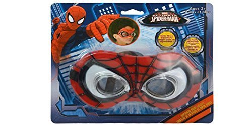 Marvel Ultimate Spiderman Deluxe Superhero Swim Goggle