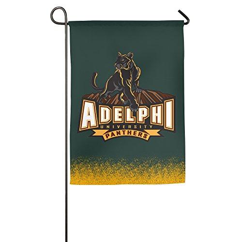 Adelphi University Panthers 100% Polyester Home Flag Garden Flag