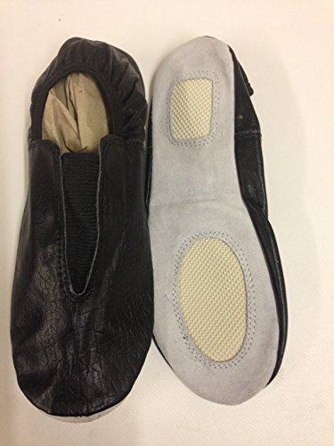 Entranement Noir Trampoline Chaussures Cuir Danse Gymnastique gqXIIwWZ5