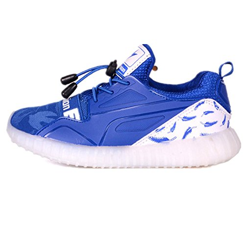 Kids LED Light Up Shoes Boy and Girl's Colorful Sneakers