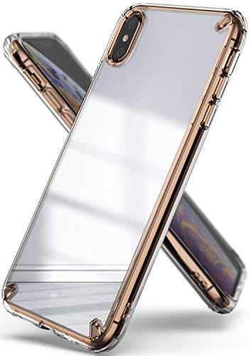 Ringke Mirror Compatible iPhone Xs Max Case, Bright Reflection Radiant Luxury Mirror Bumper [Qi Wireless Charging Compatible] Stylish Protective Cover iPhone Xs Max 6.5