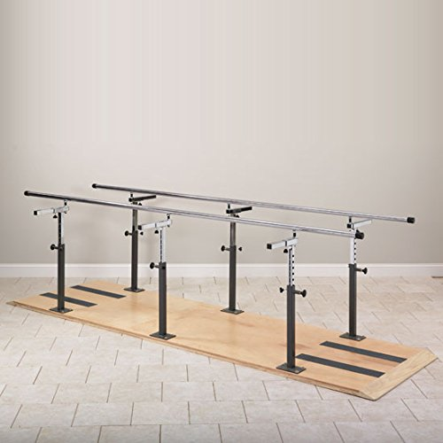 10' Bariatric Parallel Bars, used for Physical Therapy CL 3 2106