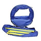 MiMu Dog Agility Training Equipment Kit with 5-Foot Full Length Dog Agility Tunnel, 8 Weave Poles, 1 Dog Agility Jump