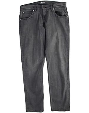 Mens Sequel Charcoal Grey Jeans