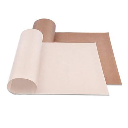 ToomLight Reutilizable para hornear Hoja de teflón resistente a ...