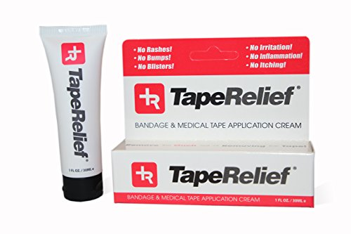 Tape Relief 1Oz Tube   For Those Allergic To Tape  People Who Have Adhesive Skin Irritation  Skin Maceration And Ostomy Patients