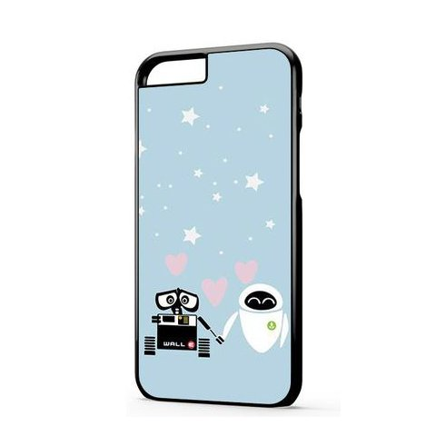 Wall-E And Eve iPhone 6 Plus Case Cover, Wall-E And Eve iPhone 6S Plus Case Cover
