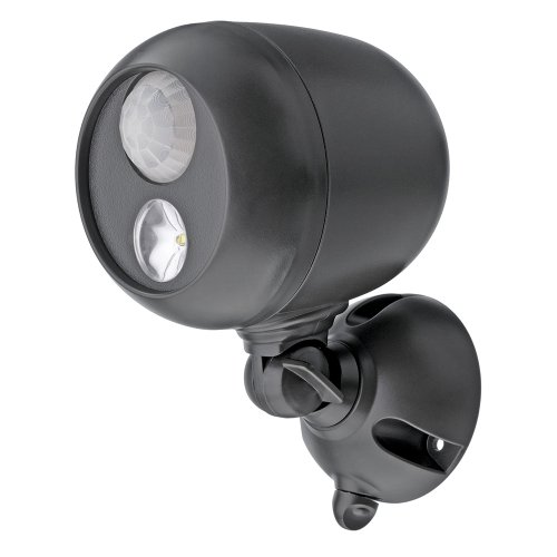 Mr. Beams MB360 Wireless LED Spotlight with Motion Sensor and Photocell - Weatherproof - Battery Operated - 140 Lumens