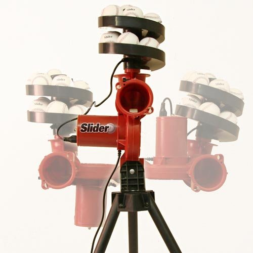 Slider Cricket Bowling Machine by Heater by Heater