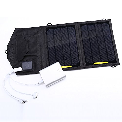 8w Foldable Solar Panel Portable Solar Charger for