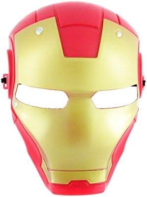 Disfrazjaiak Mascara Iron Man - Mascaras, Antifaces y Caretas ...