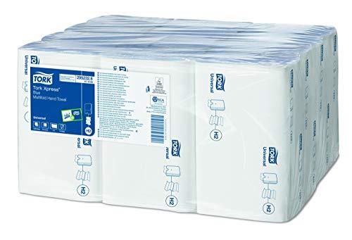 Tork 471069 handdoek, Xpress Multifold, 1-laags, blauw (3000 stuks)