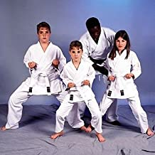 ProForce 8 oz. Medium Weight Uniform - White (Traditional Drawstring) Size 000 (Child Size 8-10) 1 packs