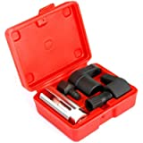 5 PCS Automotive Oxygen Sensor Socket Wrench Removal Tool and Thread Chaser Set