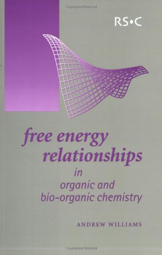 Free Energy Relationships in Organic and Bio-Organic Chemistry: RSC