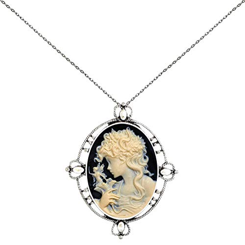 Everywhere My Heart Pendant Necklace Cameo Stand Out You ()