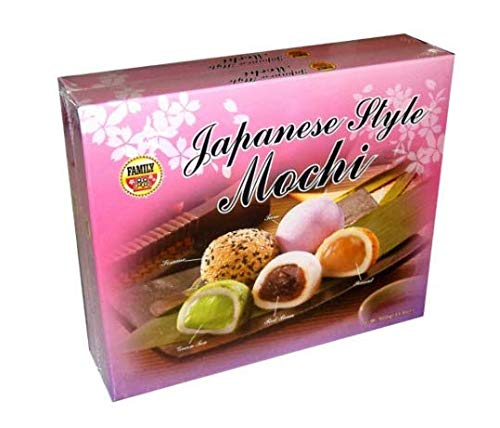 Royal Family Assorted Japanese Mochi (31.8 oz. box, 2 ct.) by Family Foods Ltd