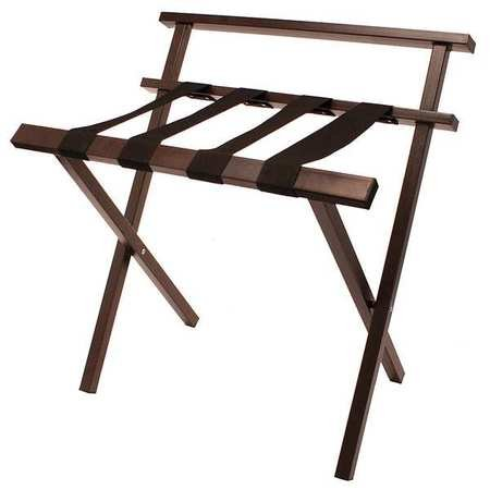 Luggage Rack, Steel, 15-1/2in. D, 300 lb.