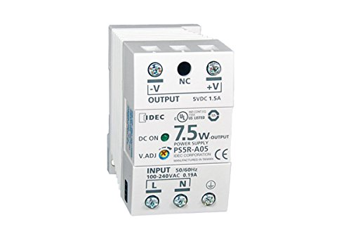 IDEC Corp. PS5RC24 24VDC output, 30W Output Capacity Power Supplies Specifications