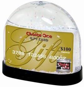 Neil Enterprises Gift Card Snow Globe – Case of 36