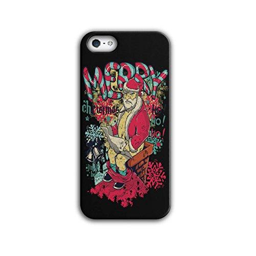 Angry Evil Santa Ho Ho Xmas Cheer NEW Black 3D iPhone 5 / 5S Case | Wellcoda (Ho Outfits)
