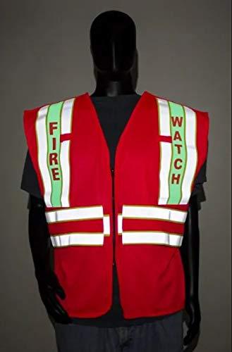 VizLite DT AFR500LFR Alpha Work Wear Limited FR Fire Watch 3X-4x