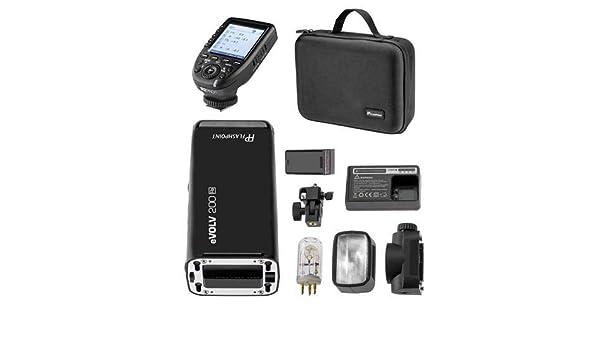 Godox AD200 TTL Pocket Flash Flashpoint eVOLV 200 TTL Pocket Flash with R2 Prof Trigger Kit for Fujifilm Cameras