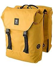 AGU Essentials DWR Urban Klickfix Dubbele Fietstas voor Bagagedrager, 36L Zijtas voor op de Fiets met Schouderband, Waterafstotend, Reflecterend, 100% Gerecycled Polyester