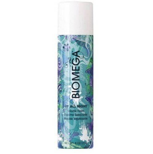 Aquage Biomega Up All Night Volume Foam Mousse for Unisex, 8 Ounce by Aquage