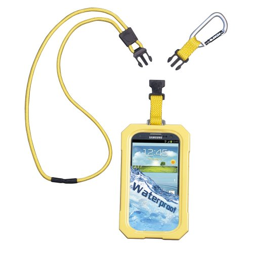 DRI CAT 11061P-C89 Samsung(R) Galaxy S(R) III Dri Cat Neck iT Waterproof Case with Lanyard (Yellow)